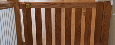 Clear Oak with Spacer Blocks