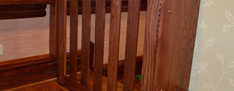 Oak Swing with Spacer Board and Blocks