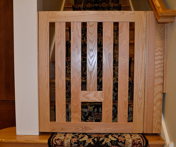 Removable Oak With Spacer Board and Block